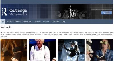 database on theatre